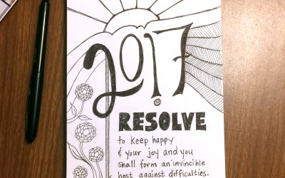 Resolve to Keep Happy