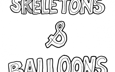 Skeletons & Balloons – A Super Simple Lettering Lesson